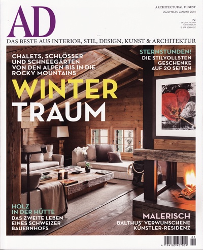 Editorial Architectural Digest Germany